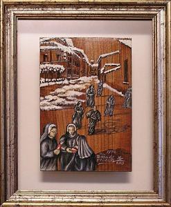 Via Bondiolo nevicata 1900