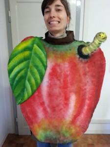 prototipo di abbigliamento vegetale per classi prime